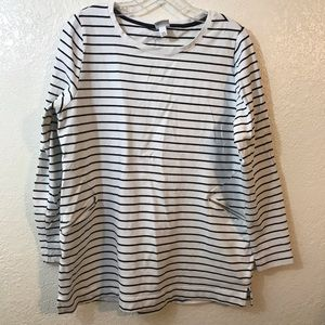 Merona Striped Top SZ XXL